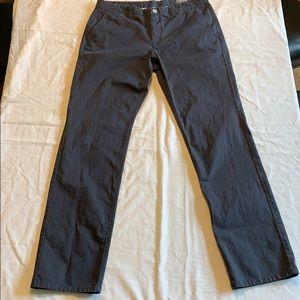 Men's Jet Blue Bonobos washed chinos